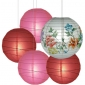 40 x 5per-set Peonyl Assorted Paper Lanterns
