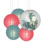 40 x 5per-set Parrot Assorted Paper Lanterns