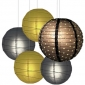 40 x 5per-set Starry Assorted Paper Lanterns