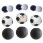 12 pack Assorted Football lanterns w/ pompoms wholesale (25sets)