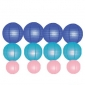 12pack in 3 Size paper lanterns-Navy -turquoise-pink
