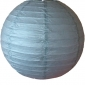 16 Inch Even Ribbing Dim Gray Paper Lanterns