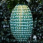 Spindle Designed Out Door Solar LED-Powered Fabric Lamp