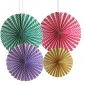"12"" Line paper fan party decor"