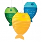 3pack Fish paper lanterns