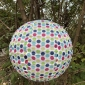 "12"" Out Door Solar LED-Powered Fabric Lamp"