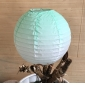 12 inch changed color paper lantern-mint