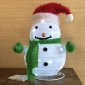 Xmas Snowman Fabric led light