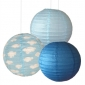 12 inch clouds 3 pack paper lanterns