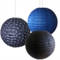12 inch Starry sky 3pack paper lanterns