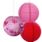 12 inch Birds 3 pack Paper lanterns