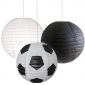 12 inch Football 3 pack Paper lanterns