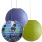 12 inch seabed 3 pack Paper lanterns