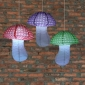 3pcs Polka Small Dot 3c Mushroom Paper Lanterns