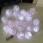 "3"" Pink Paper Shaped Party String Lights-20L"