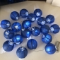 "3"" Royal Blue Paper Shaped Party String Lights-20L"