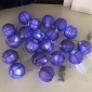 "3"" Purple Paper Shaped Party String Lights-20L"