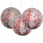"3pck 12"" CHERRY-hanging-paper-lanterns"
