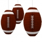 3pack Rugby paper lanterns