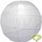 "16"" Irregular Bamboo Ribs Paper Lanterns (12 OF PACK)"